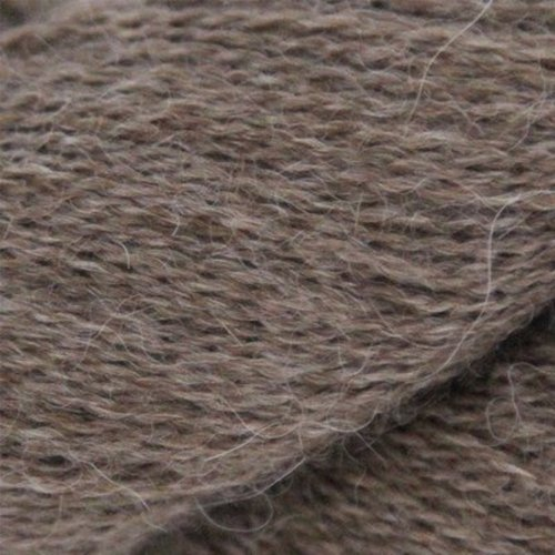 Valley Yarns 823 Wood Star Shawl Kit - Bark - Model (01)