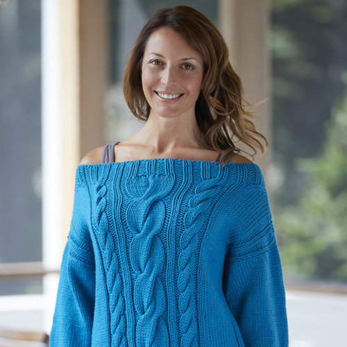"Valley Yarns 824 Flashback Pullover Kit - 36"" (01)"