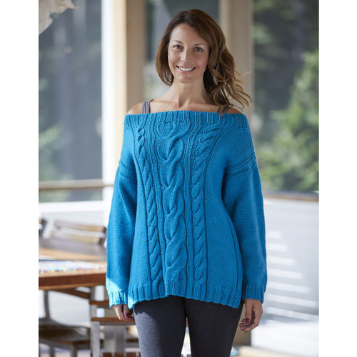 Valley Yarns 824 Flashback Pullover - Download (824)