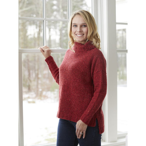 "Valley Yarns 830 Taconic Turtleneck Kit - 36"" (01)"
