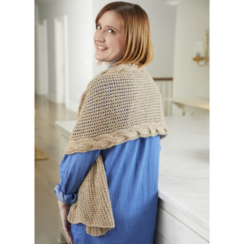 Valley Yarns 831 Woodbridge Scarf/Wrap Kit - Scarf (01)