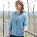 "Valley Yarns 833 Deauville Cardigan Kit - 52¼"" (06)"