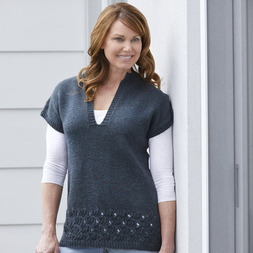 """Valley Yarns 835 Arcus Pullover Kit - 34"""" (01)"""