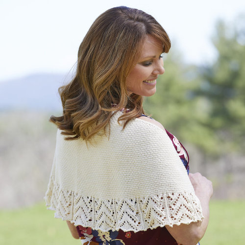 Valley Yarns 852 Cobblestone Crescent Shawl - Download (852)