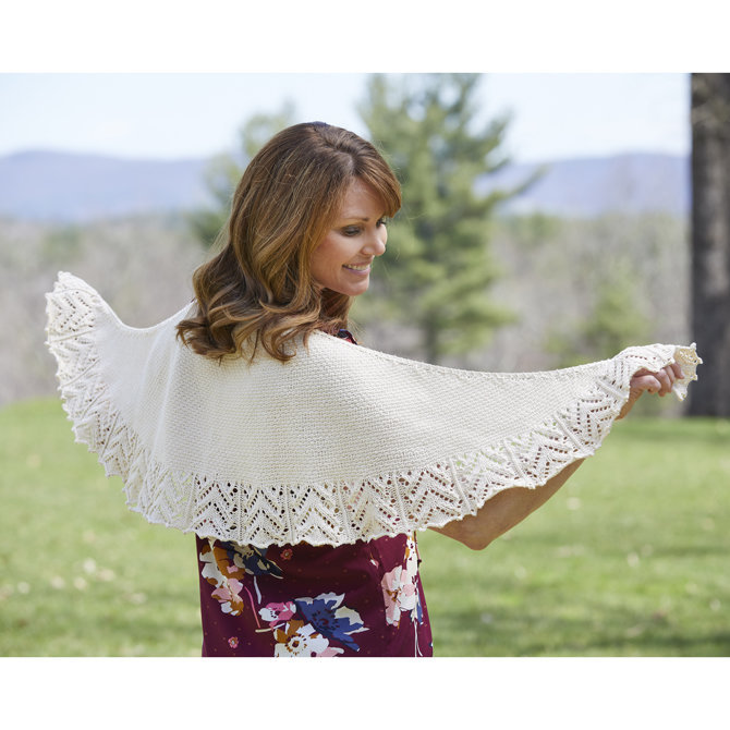 62eaeed6c Valley Yarns 852 Cobblestone Crescent Shawl - Download (852)