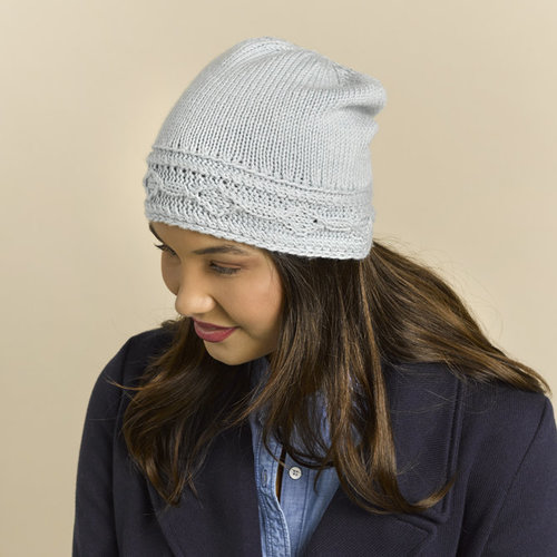 Valley Yarns 892 Ice Cave Kit - Light Blue (Model) (01)