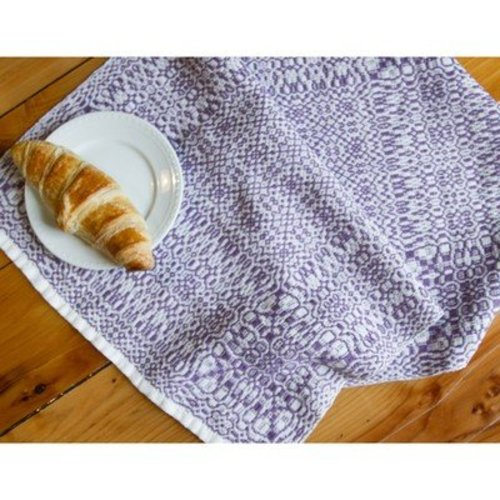 Valley Yarns #93 Baroque Garden Towel PDF -  ()