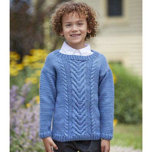 Valley Yarns 943 Borage Kit - 1-2yrs (01)