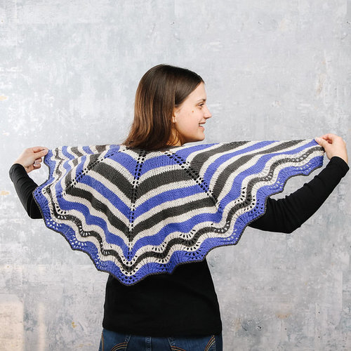 Valley Yarns 953 Larkspur Kit - Model (01)