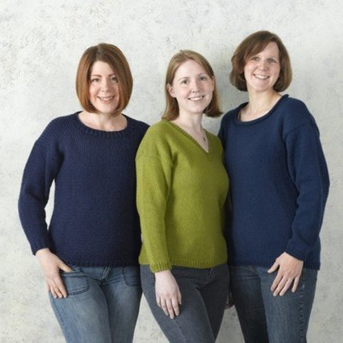 Valley Yarns B1 Basic Pullover - Download (B1)