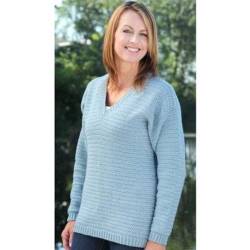 Valley Yarns B10 Basic Crochet Pullover - Download (B10)