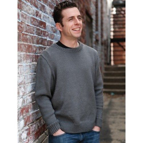 Valley Yarns B11 Basic Men's Pullover - Download (B11)