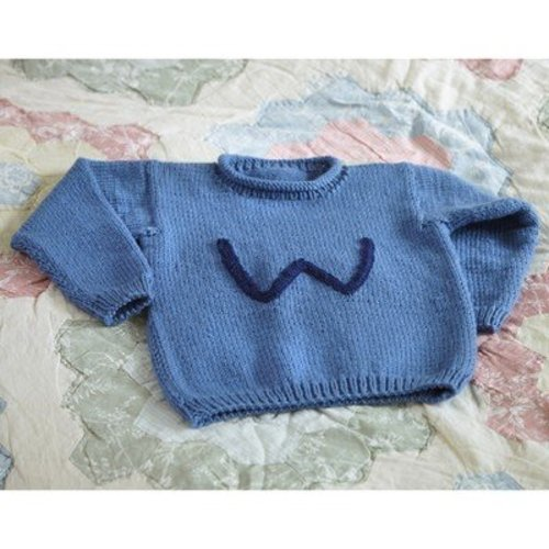Valley Yarns B12 Basic Child's Pullover - Download (B12)