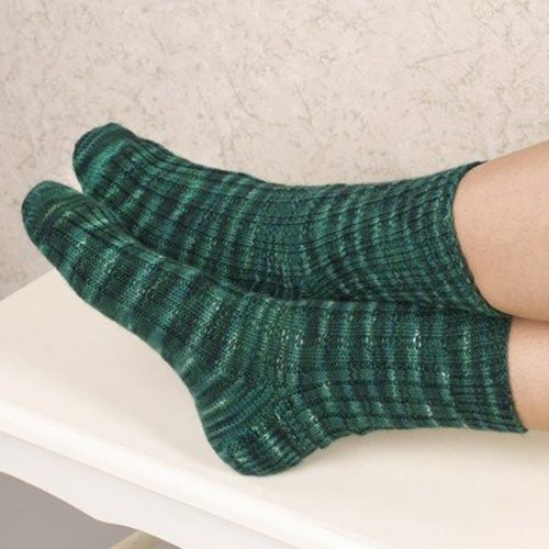 Valley Yarns B13 Basic Heel-Flap Sock - Download (B13)