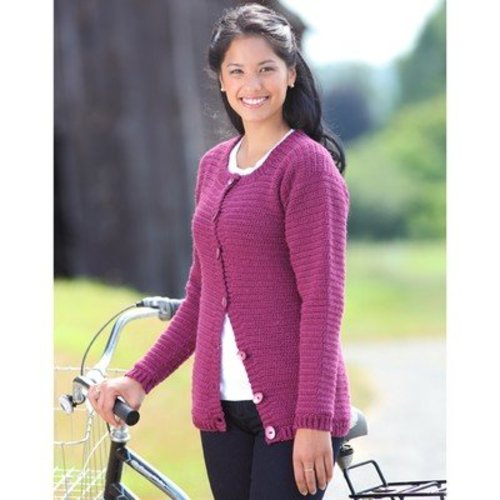 Valley Yarns B7 Basic Crochet Cardigan - Download (B7)