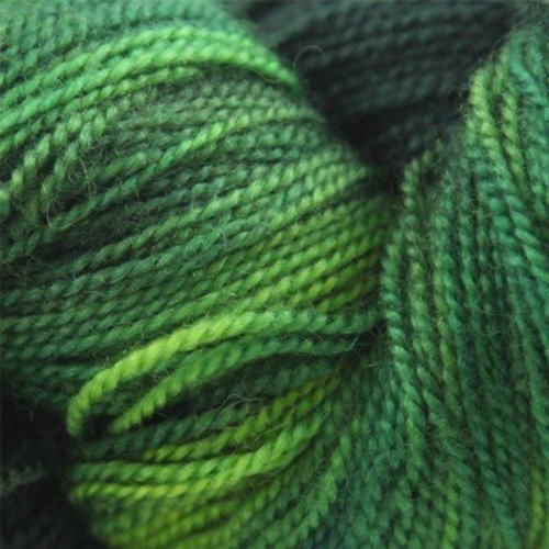 Valley Yarns BFL Fingering Hand Dyed by the Kangaroo Dyer -  ()