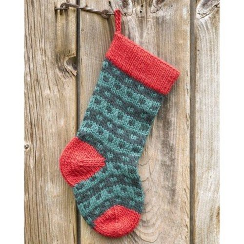 Valley Yarns Spotted Christmas Stocking Kit -  ()