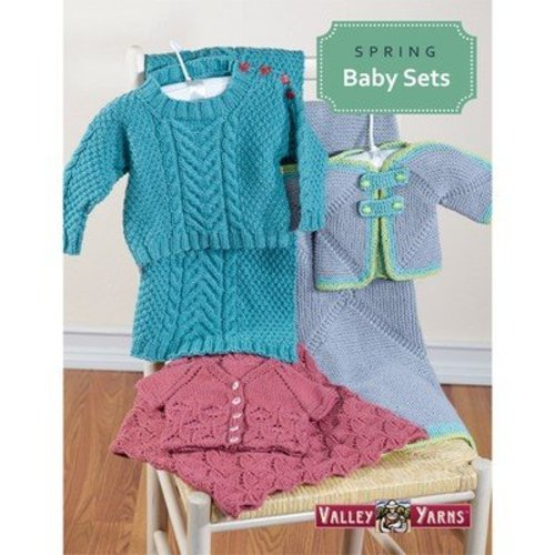 Valley Yarns Spring Baby Sets eBook -  ()