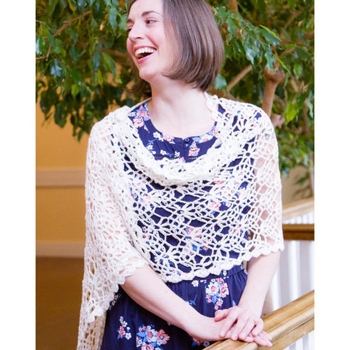 Valley Yarns WEBS DIR06 Lace Shawl by Doris Chan - Download (2015PDF06)