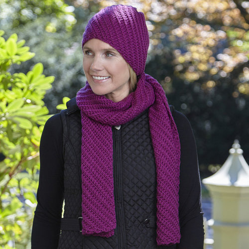 Valley Yarns WEBS DIR10 Superwash Scarf and Hat by Doris Chan - Download (2015PDF10)