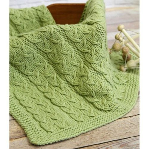 Valley Yarns WEBS Emerging Designer #04 Sproutlet Blanket PDF -  ()