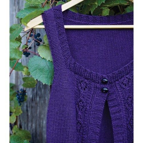 Valley Yarns WEBS Emerging Designer #07 Got You Covered Vest PDF -  ()