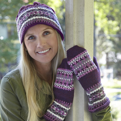 Valley Yarns WEBS Emerging Designer #08 Got You Covered Hat and Mittens PDF -  ()
