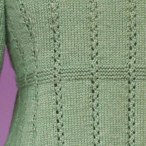Vermont Fiber Designs 172 Top-Down Empire Waist Pullover PDF -  ()