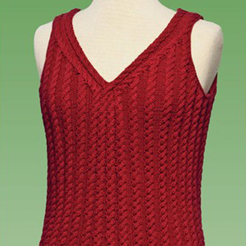 Vermont Fiber Designs 177 Cable Tank Top PDF -  ()