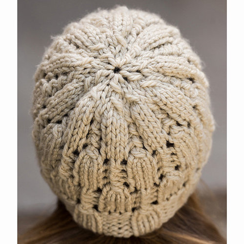 Vermont Fiber Designs 705 Alternating Lace Hat PDF -  ()
