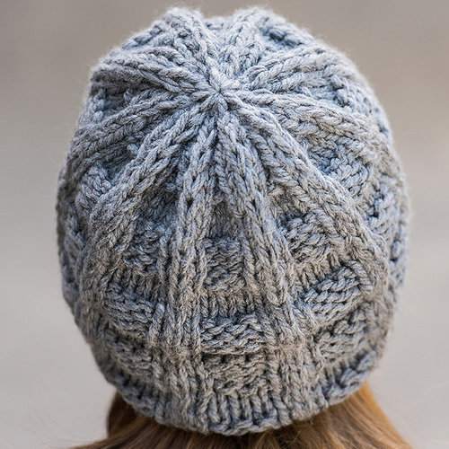 Vermont Fiber Designs 708 Furrows Rib Hat PDF -  ()