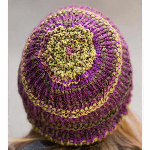 Vermont Fiber Designs 710 Garter and Rib Hat PDF -  ()