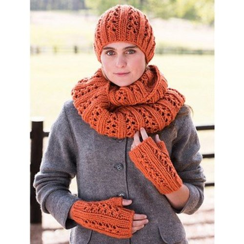 Vermont Fiber Designs Double Lace Rib Set PDF -  ()