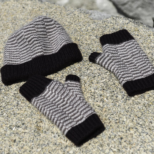 VERSACIKNITS Sequences Hat and Mitts PDF -  ()
