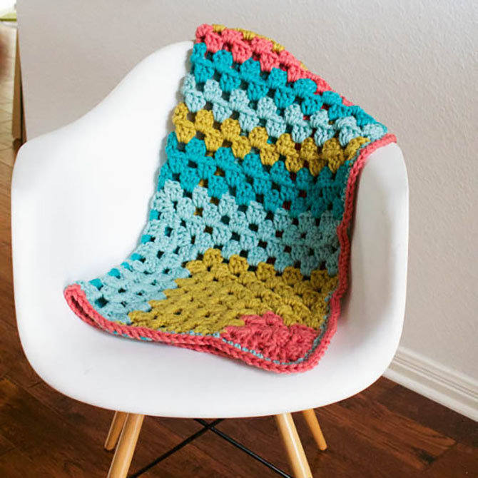 Vickie Howell Super Bulky Baby Blanket Kit At Webs Yarn