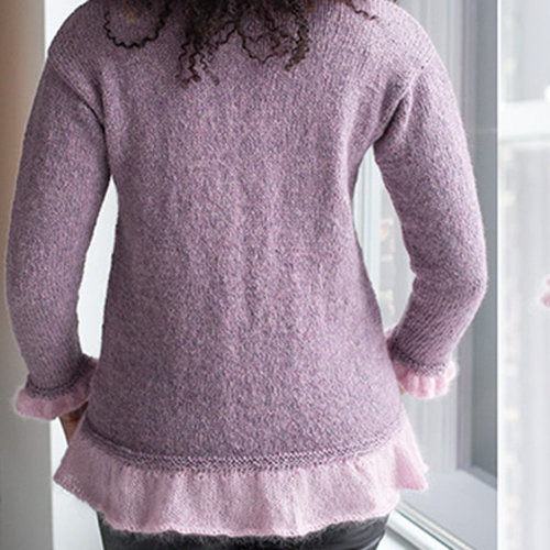 "Vogue Knitting A-Line Pullover Kit - 32-36"" (01)"