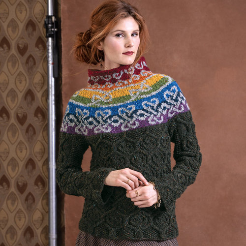 Vogue Knitting Cliffs of Moher Sweater (Free) -  ()