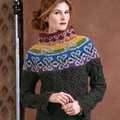 """Vogue Knitting Cliffs of Moher Sweater Kit - 32"""" (01)"""