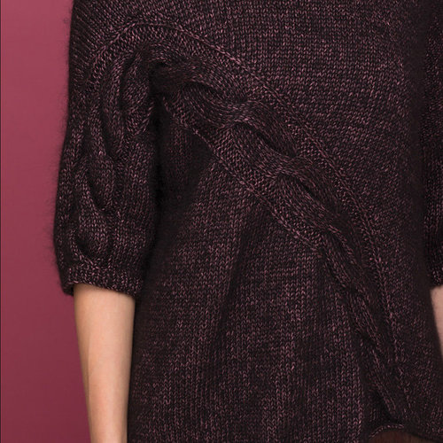 Vogue Knitting Curve Cable Pullover Kit -  ()