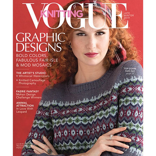 Vogue Knitting Magazine - Late Winter 2019 (LW19)