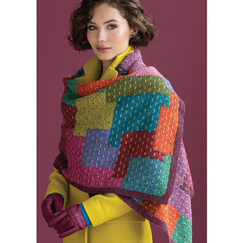 Vogue Knitting Overlapping Patches Kit - Model (01)