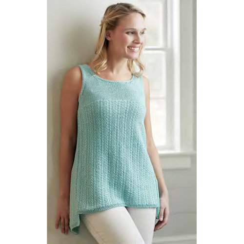 "Vogue Knitting Slip Stitch Tank Kit - 33"" (01)"