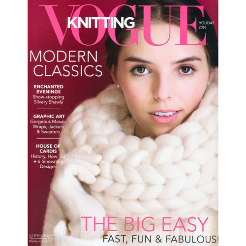 Vogue Knitting Vogue Knitting Magazine Holiday 2016 -  ()