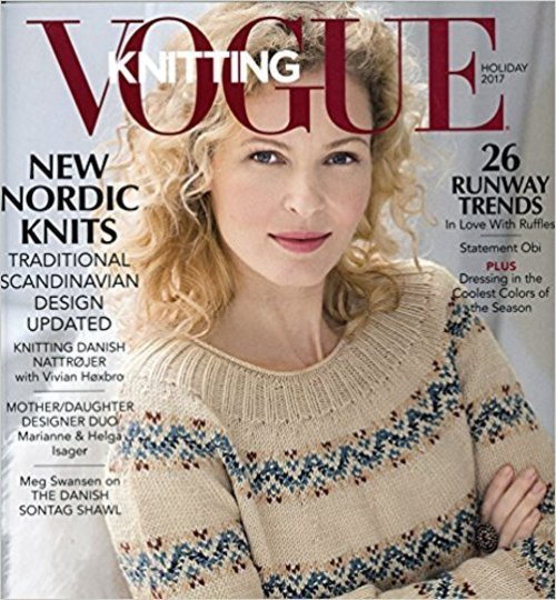 Vogue Knitting Magazine Holiday 2017 -  ()