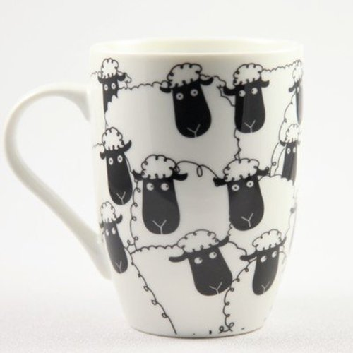 Wacky Woollies Black Sheep Mug -  ()