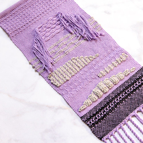 Weaving With Pick Up Stick Techniques on the Rigid Heddle Loom -  ()