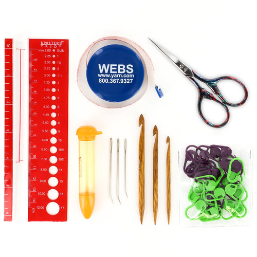 WEBS Knit and Crochet Tool Kit -  ()