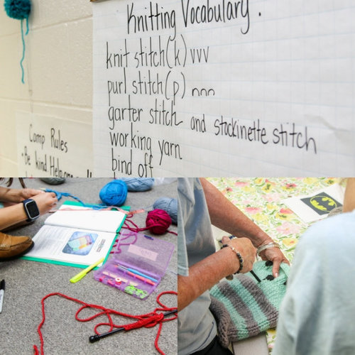 WEBS' Knitting Camp for Tweens and Teens -  ()