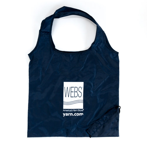 WEBS Reusable Shopping Bag - Navy (NAVY)