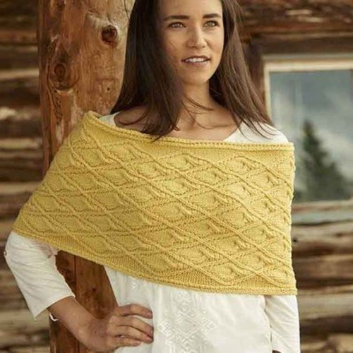 Weekend Wraps: 18 Quick Knit Cowls, Scarves & Shawls -  ()